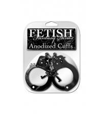 Fetish Fantasy Anodized Cuffs - Black