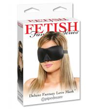 Fetish Fantasy Series Deluxe Fantasy Love Mask - Black