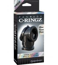 Fantasy C-Ringz Cock Pipe With Ball Stretcher