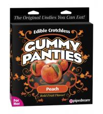 Gummy Panties - for Her - Peach