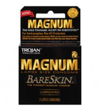 Trojan Magnum Bareskin - 3 Pack