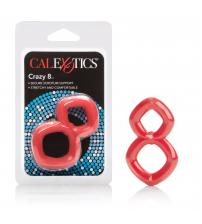 Crazy 8 Ring - Red