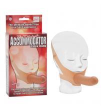 The Original Accommodator Latex Dong - Ivory