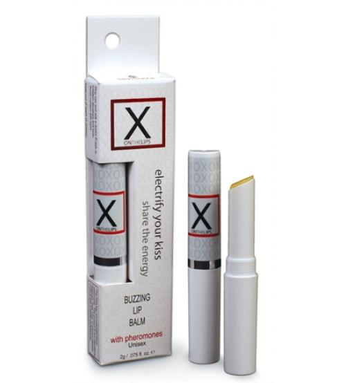 X on the Lips Lip Balm - .75 Oz.