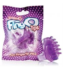 Fingo Tips - 12 Count Box - Purple