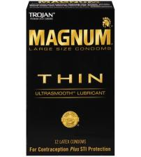 Trojan Magnum Thin - 12 Pack