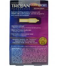 Trojan Pleasures Fire and Ice Dual Action - 10 Pack