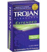 Trojan Pleasures Extended Pleasure - 12 Pack