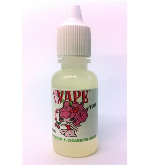 Vavavape Premium E-Cigarette Juice - Raspberry Cheesecake 15ml - 12mg