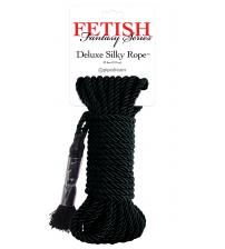 Fetish Fantasy Series Deluxe Silky Rope - Black