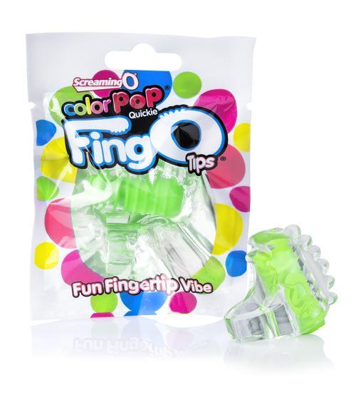 Colorpop Quickie Fingo Tips - Each - Green