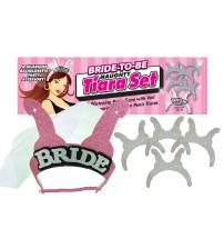 Bride-to-Be Naughty Tiara Set