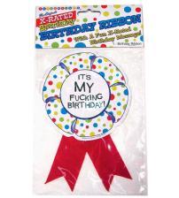 X-Rated Birthday Party Award Ribbon
