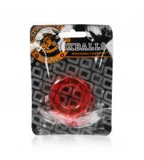Atomic Jock Humpballs Cockring - Ruby