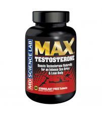 Max Testoterone - 60 Count Bottle