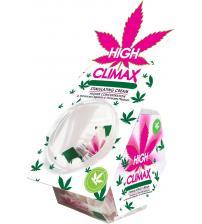 High Climax Female Stimulating Cream - 0.067 Fl.  Oz. - 50 Pc. Bowl Display