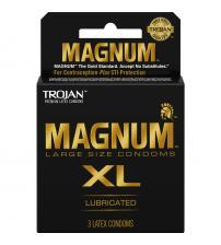 Trojan Magnum XL - 3 Pack