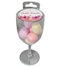 Wine Scented Bath Bombs