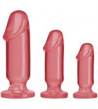 Crystal Jellies Anal Starter Kit - Pink