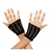 Oval Net Gloves - Black