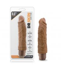 Dr. Skin - Cock Vibe 10 - 8.5 Inch Vibrating Cock  - Mocha