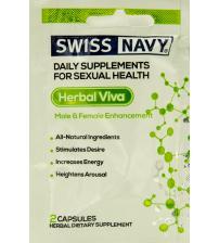 Swiss Navy Herbal Viva Him & Her Enhancement - 2 Ct