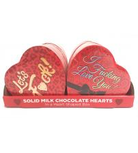 Heart Boxed Chocolates - 12 Box Display