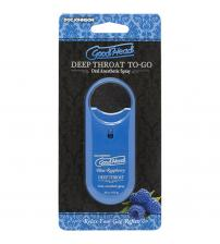 Goodhead - Deep Throat Spray to-Go - Blue  Raspberry - .33 Oz.