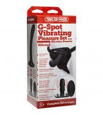 Vac-U-Lock - G-Spot Pleasure Set - Vibrating -  Black