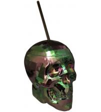 Oil Slick Skull Cup 22 Oz