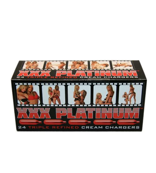 Xxx Platinum - Whip Cream Chargers - 24 Count