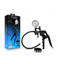 Performance - Gauge Pump Pistol With Silicone  Tubing & Silicone Cock Strap - Black