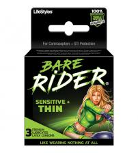 Bare Rider - Sensitive Thin - 3 Pack