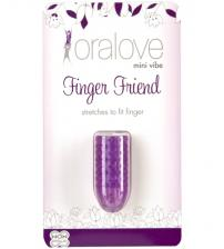 Oral Love Finger Friend - Purple