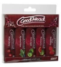 Good Head - Oral Delight Gel - 5 Pack