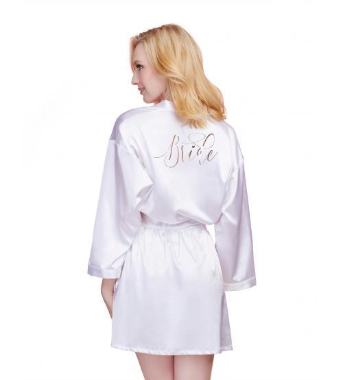 Bride Robe - X-Large - White