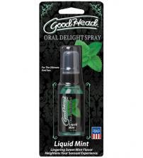Good Head Oral Delight Spray 1 Oz  - Liquid Mint