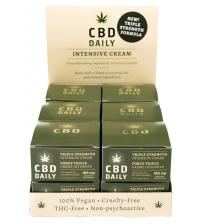 Cbd Daily Pocket Size Intensive Cream Display 24ct