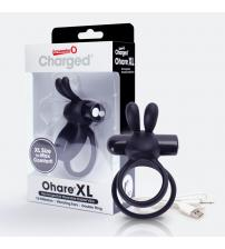 Charged Ohare XL Wearable Rabbit Vibe - Black - Each
