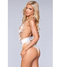 Hannah Teddy - White - Medium