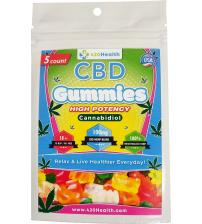 420 Health Hemp Gummies - 5ct - 100mg  20mg Per Serving