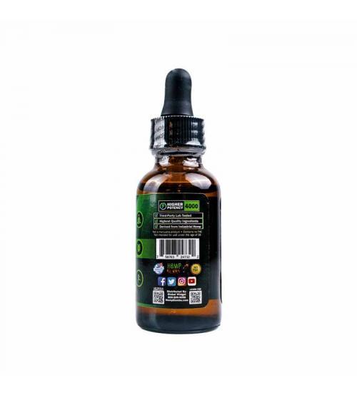 Hemp Bombs CBD Oil Peppermint 4000mg  30ml Bottle Dropper