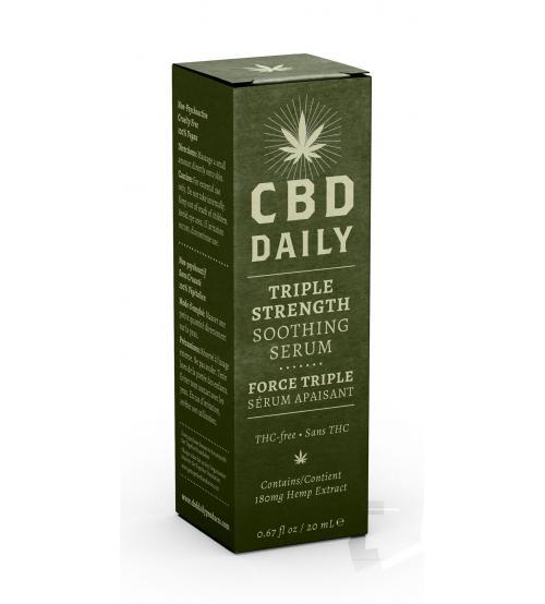 Cbd Daily Triple Strength Soothing Serum 20ml