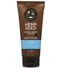 Hemp Seed Sunsational Hand and Body Lotion 7 Fl Oz 207ml