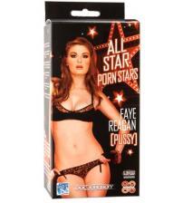 All Star Porn Stars Fave Regan Pussy - White