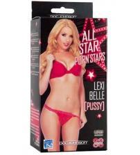 All Star Porn Stars Lexi Belle Pussy - White
