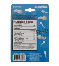 Sperm Shape Gummies Pina Colada Flavored 4.2oz