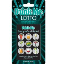 Drink Me Lotto 12 Winning Tickets!