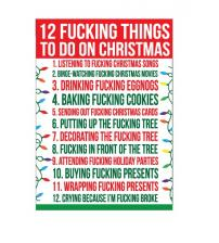 12 Fucking Things to Do on Xmas - Gift Bag