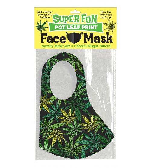 Super Fun Pot Leaf Mask